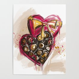 Valentines Day - Chocolate box Poster