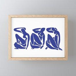 Blue Matisse Framed Mini Art Print