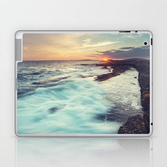 Setting over Surf Laptop & iPad Skin