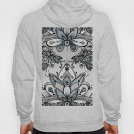 Denim Paisley Hoody