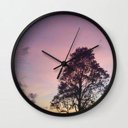 Pastel Sky #3 Wall Clock