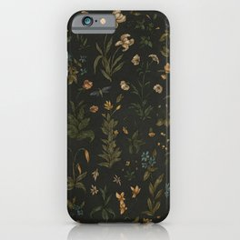 Old World Florals iPhone Case