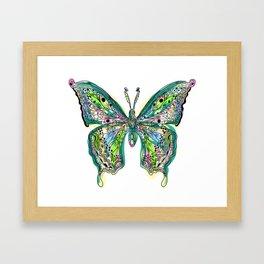 Fly Butterfly Framed Art Print