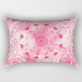 """The Suitor's Plea"" Kaleidoscope 5 by Angelique G. @FromtheBreathofDaydreams Rectangular Pillow"