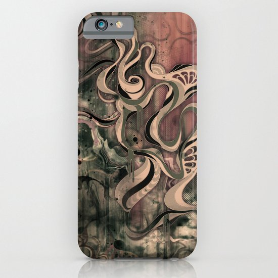 Tempest III (sandstorm) iPhone & iPod Case