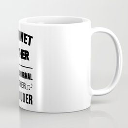 Clarinet Brother Like A Normal Brother Just Louder Coffee Mug