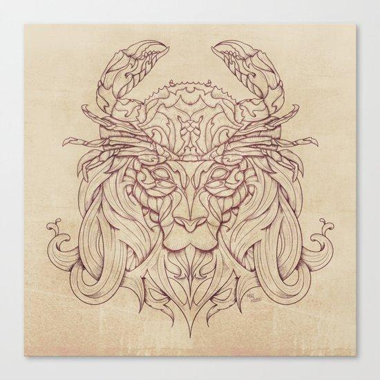 Lion Crab Canvas Print