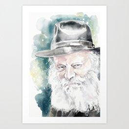 The Rebbe Art Print