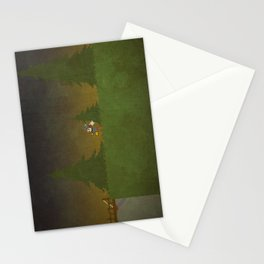 Forest Scene Stationery Cards