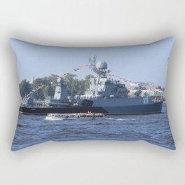 Military torpedo battleship Kazanec Rectangular Pillow