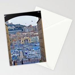 Framed Marseille - Fine Arts Travel Photography Stationery Cards
