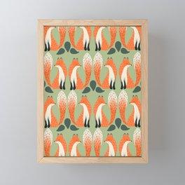 Fox Lore Friends Framed Mini Art Print