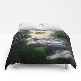Two in one - Sun eclipse Comforters