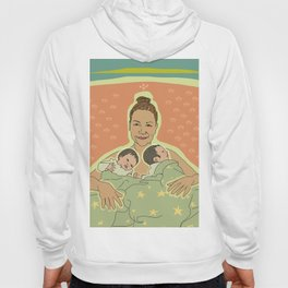 Mother with Twins Hoody