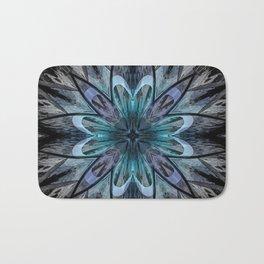 Crystal Blue Mandala Badematte