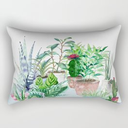 Plants 2 Rectangular Pillow