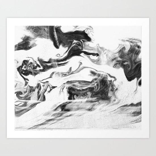 Conflict Art Print