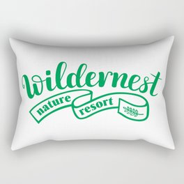 wildernest india Rectangular Pillow