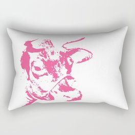 Follow the Pink Herd #700 Rectangular Pillow