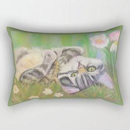 Kitten Dream Rectangular Pillow