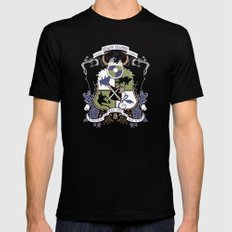 Dragon Training Crest - How to Train Your Dragon Mens Fitted Tee Black MEDIUM