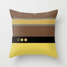 Geordie La Forge - Minimalist Star Trek TNG The Next Generation - 1701 D startrek Trektangles Throw Pillow