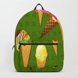 Ice cream-Green Backpack