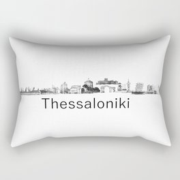 thessaloniki skyline  Rectangular Pillow