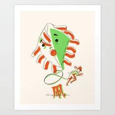 - 凧 -  Art Print