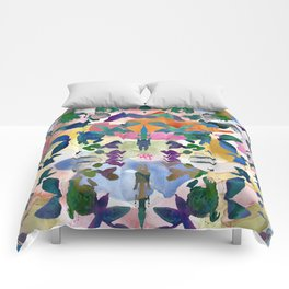 Floral Exclusion  Comforters