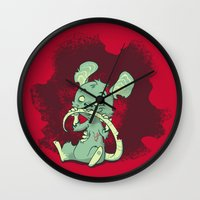 Zombie Mouse Wall Clock