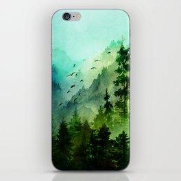 Mountain Morning iPhone Skin
