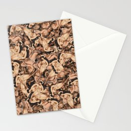 Nude Lady Ladies Funny Pattern Stationery Cards