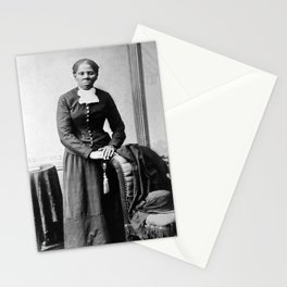 Harriet Tubman Portrait - Circa 1873 Stationery Cards