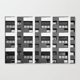 Surface Tension: 14 Fortrose Street Canvas Print