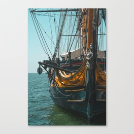 Maritime Museum of San Diego Canvas Print