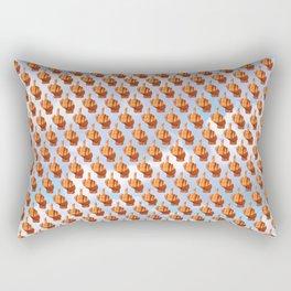 A Flock of Birds Rectangular Pillow