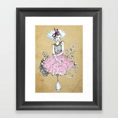 Delirose Framed Art Print