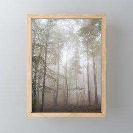 Autumn's Fog Framed Mini Art Print