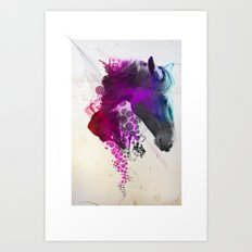 Mo Chroí  Art Print