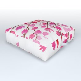 Rain of Cherry Blossom Outdoor Floor Cushion