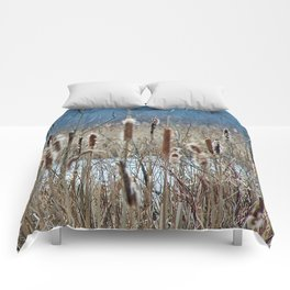Cattail, Bulrush and Wetlands Comforters