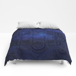 Cosmic Mandala Comforters