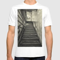 Alcatraz Mens Fitted Tee White MEDIUM