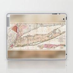 1842 Mather Map of Long Island, New York Laptop & iPad Skin