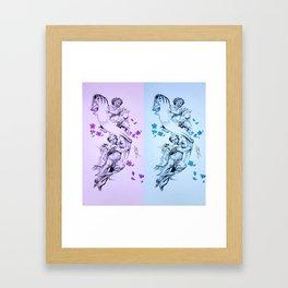 Baby Angels Framed Art Print