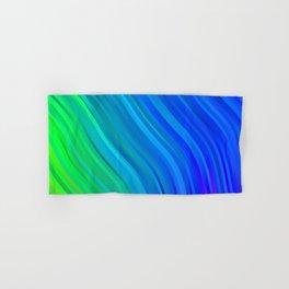 stripes wave pattern 1 stdv Hand & Bath Towel