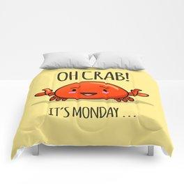 Crabby Day! Comforters