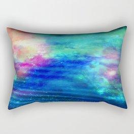 Stars And Waves Rectangular Pillow