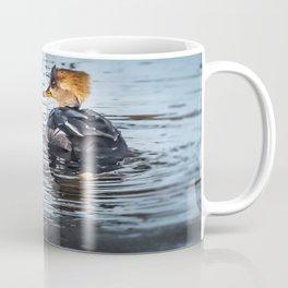 Hooded Merganser Pair Coffee Mug